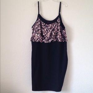 Ladies' Torrid Sequined Bodice Party Dress (5X)